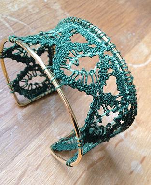 Bracelet de Françoise (modèle de C.Burkhard)