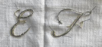 Lettres de Régine (modèle mj massol)