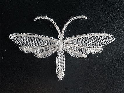 Papillon dentelle Duchesse de Martine (modèle de U.Löhr)