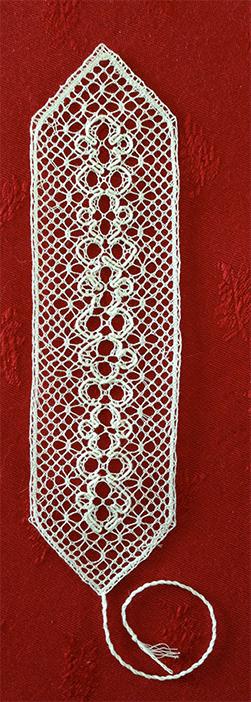 Un signet de Ines (modèle de M.Piveteau)