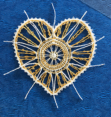 Un cœur de Régine (modèle de L.Suchanek)