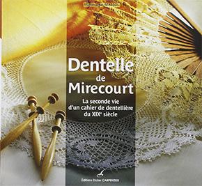 """livre """"Dentelle de Mirecourt"""""""