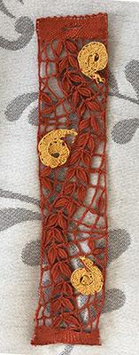 Bracelet de Régine aux points d'esprit (modèle MJ Massol)