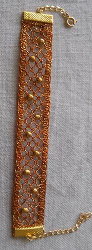 Bracelet perle par Valérie