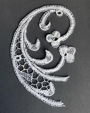 Dentelle Rococo de Monique (modèle de A.M.Verbeke)